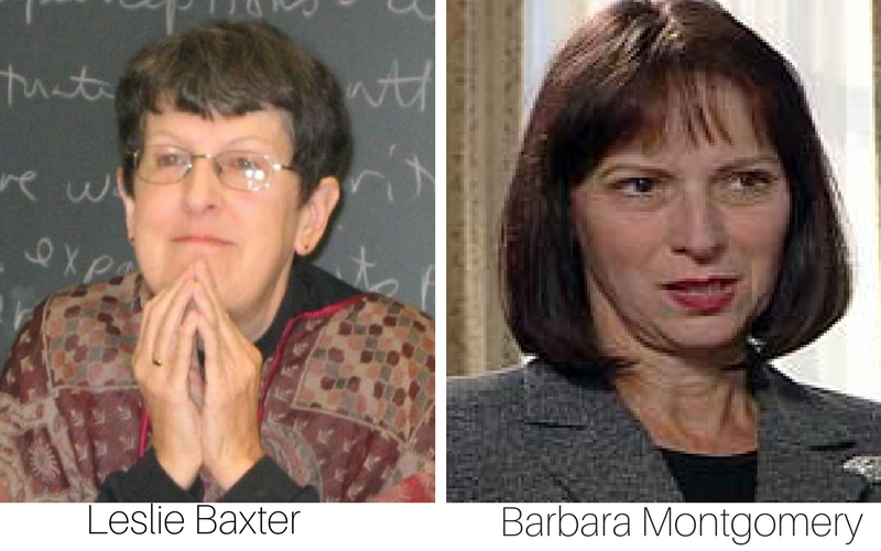 Founders of Relational Dialectics Theory - Leslie Baxter and Barbara Montgomery