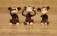 Seeing, hearing and speaking is included in effective communication skill