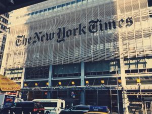 The New York Times building